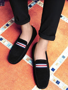 Men Slip-on Breathable Simple Loafers Flat Shoes
