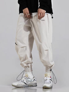 Original Printed Drawstring Men's Pants