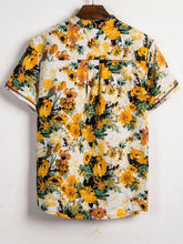 Load image into Gallery viewer, Summer Vacation Style Printed Men Blouse&shirt