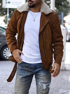 Men Winter Casual Warm Jacket