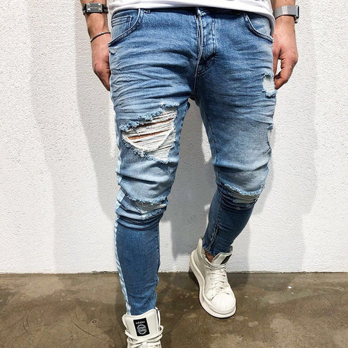 Men Fashion Design Jeans