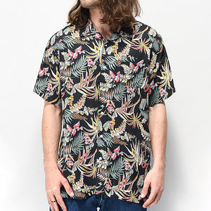 Men Printed Casual Short Sleeve Shirt