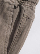 Load image into Gallery viewer, Men's Solid Street Style Loose Pants