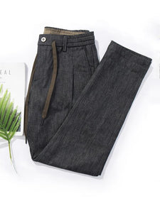 Mens Casual Solid Pants
