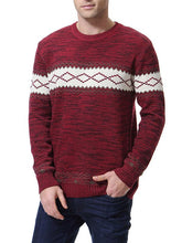 Load image into Gallery viewer, Men Casual Round Neck Sweater Tops