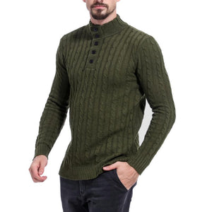 Men Striped Solid Sweater Tops