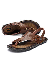 Load image into Gallery viewer, Men Casual Beach Flat Sandal