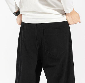 Men Solid Casual Bloomers