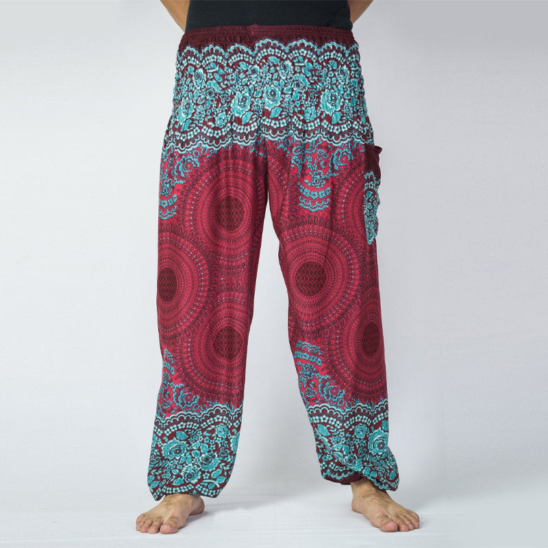Men Folk-Custom Printed Harem Pants