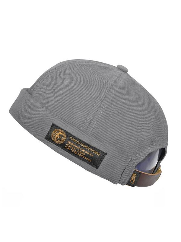 Corduroy Breathable Casual Hat