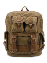 Load image into Gallery viewer, Men Vintage Canvas Outdoor Casual Backpack