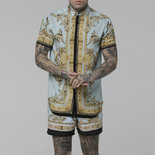 Load image into Gallery viewer, Men Printed Casual Outfit Two-Piece Suits