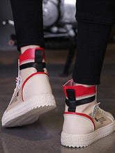 Load image into Gallery viewer, Men High-top Bandage Chinese Letter Printed Casual Shoes