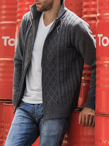 Men Fashion Casual Cardigan Outerwear