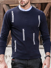 Load image into Gallery viewer, Men Knitted Sweater Tops