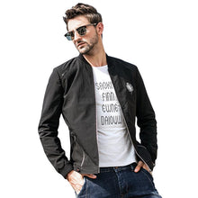 Load image into Gallery viewer, Men Stand Collar Jacket Coat