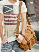 Load image into Gallery viewer, Men Fashion Canvas Casual Crossbody Bag