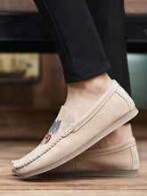 Load image into Gallery viewer, Embroidered Slip-on Casual Flat Shoes