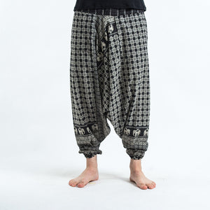 Men Relaxed-Leg Loose Trousers