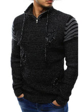 Load image into Gallery viewer, Men Fashion Hole Sweater Jumper