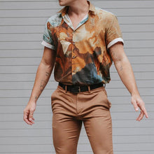 Load image into Gallery viewer, Men Street Style Short Sleeves Shirt