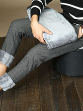 Load image into Gallery viewer, Men Casual Plus Cashmere Straight Leg Pant