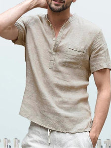 Men New Short Sleeve Cotton Polo