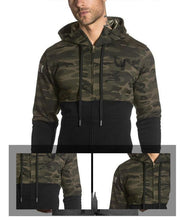 Load image into Gallery viewer, Men Camouflage Hoodie Jacket