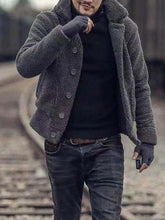 Load image into Gallery viewer, Men Winter Fashion Warm Teddy Outerwear