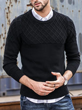 Load image into Gallery viewer, Men Solid Sweater Tops