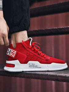 Men Casual Lace-Up Athletic Shoes Sneakers