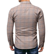 Load image into Gallery viewer, Men Business Long Sleeve Printing Shirt