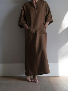 Men Casual Solid Robe