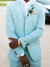 Load image into Gallery viewer, Men Wedding Formal Solid Blazer
