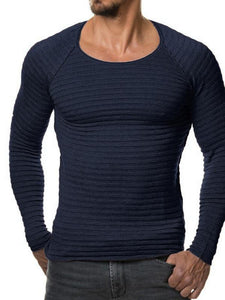 Men Casual Long Sleeve T-Shirt