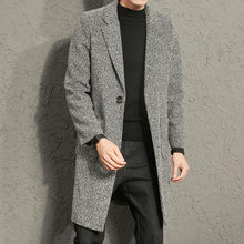Load image into Gallery viewer, Men Lapel Cardigan Coat