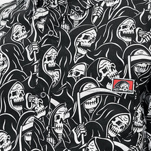 Load image into Gallery viewer, Men Grim Reaper Print Shirt