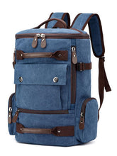 Load image into Gallery viewer, Split-Joint Casual Fashion Canvas Backpack