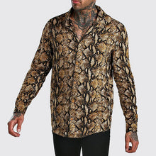 Load image into Gallery viewer, Men Urban Style Casual Printed Shirt