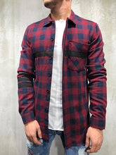 Load image into Gallery viewer, Men Spring Grid Printing Shirt