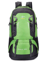 Load image into Gallery viewer, 60L Large Capacity Outdoor Travel Contrast Color Backpack