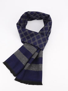 Men's Flannel Plaid Scarf