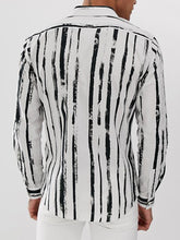 Load image into Gallery viewer, Men Printed Blouse Shirt