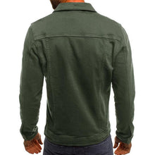 Load image into Gallery viewer, Men Pocket Solid Casual Jacket