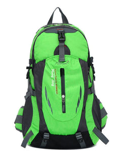 Large Capacity Outdoor Travel Contrast Color Backpack