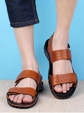 Load image into Gallery viewer, Men Beach Casual Leather Sandal Shoes