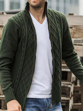 Load image into Gallery viewer, Men Fashion Casual Cardigan Outerwear