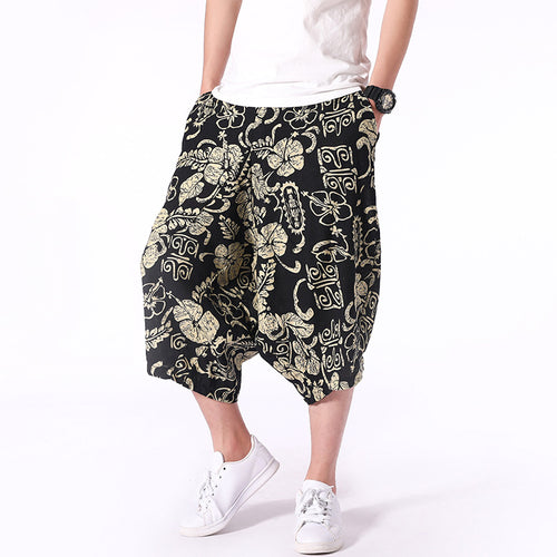 Men Chinese Style Casual Pants