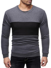 Load image into Gallery viewer, Men Color Block Casual Sweatshirt