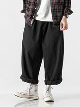 Load image into Gallery viewer, Men's Loose Solid Wide Leg Pants